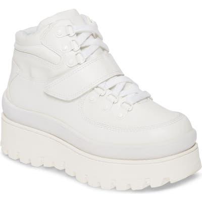 Jeffrey Campbell Top Peak 2 Platform Sneaker, White