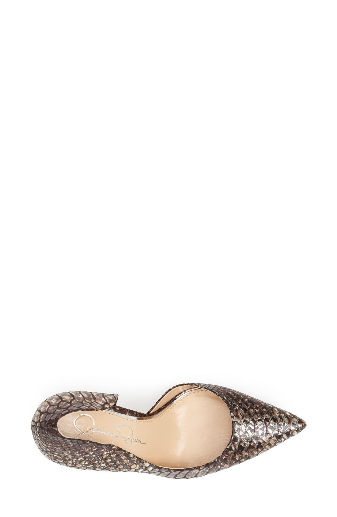 ,                             'Claudette' Half d'Orsay Pump,                             Alternate thumbnail 116, color,                             220
