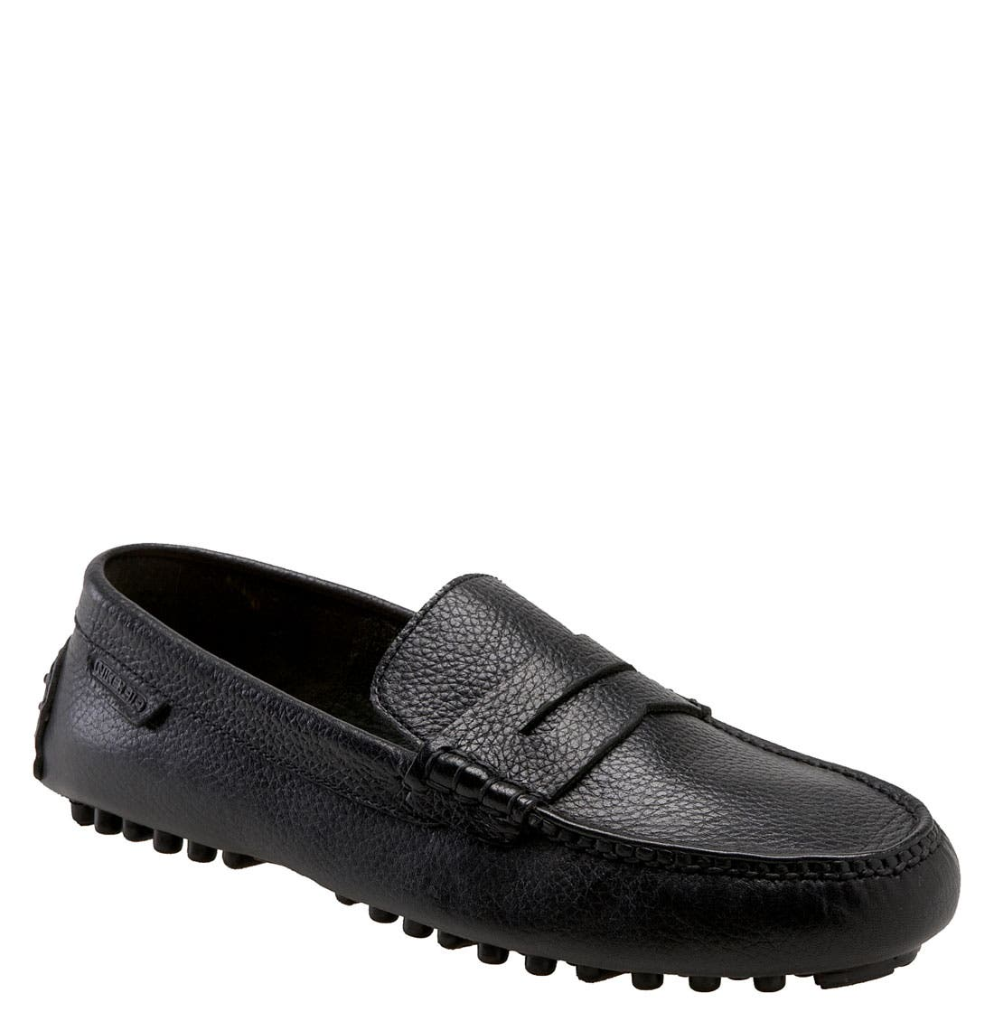 'Air Grant' Driving Loafer, Main, color, 001