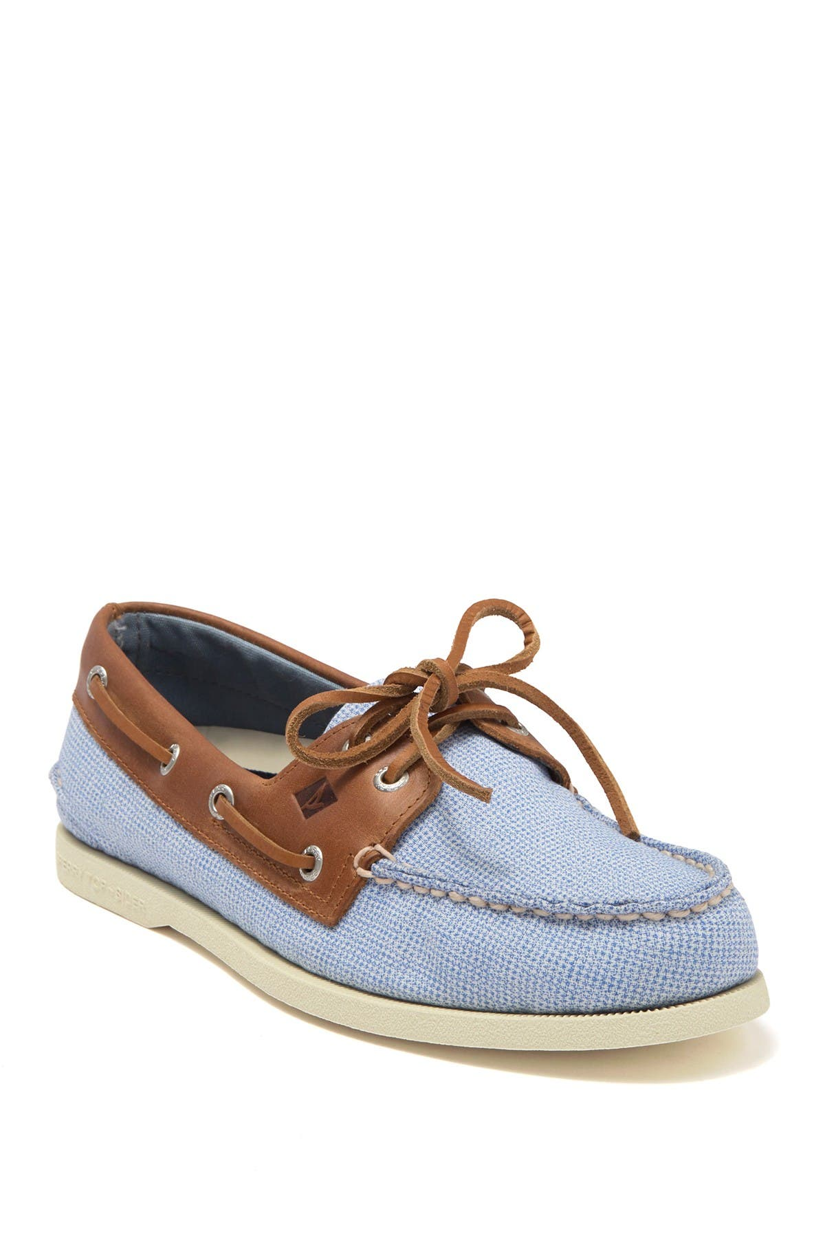 Image of Sperry Authentic Original 2-EYE Gingham Boat Shoe