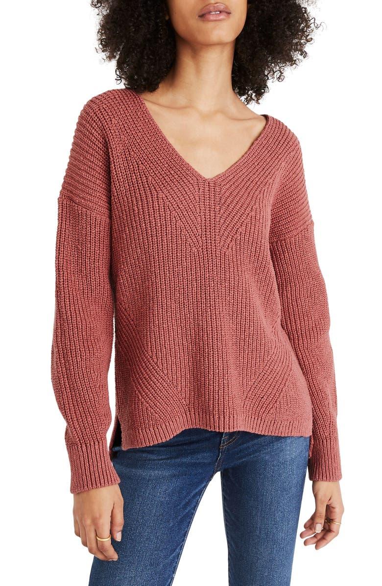 MADEWELL Ridgeton Pullover Sweater, Main, color, 650