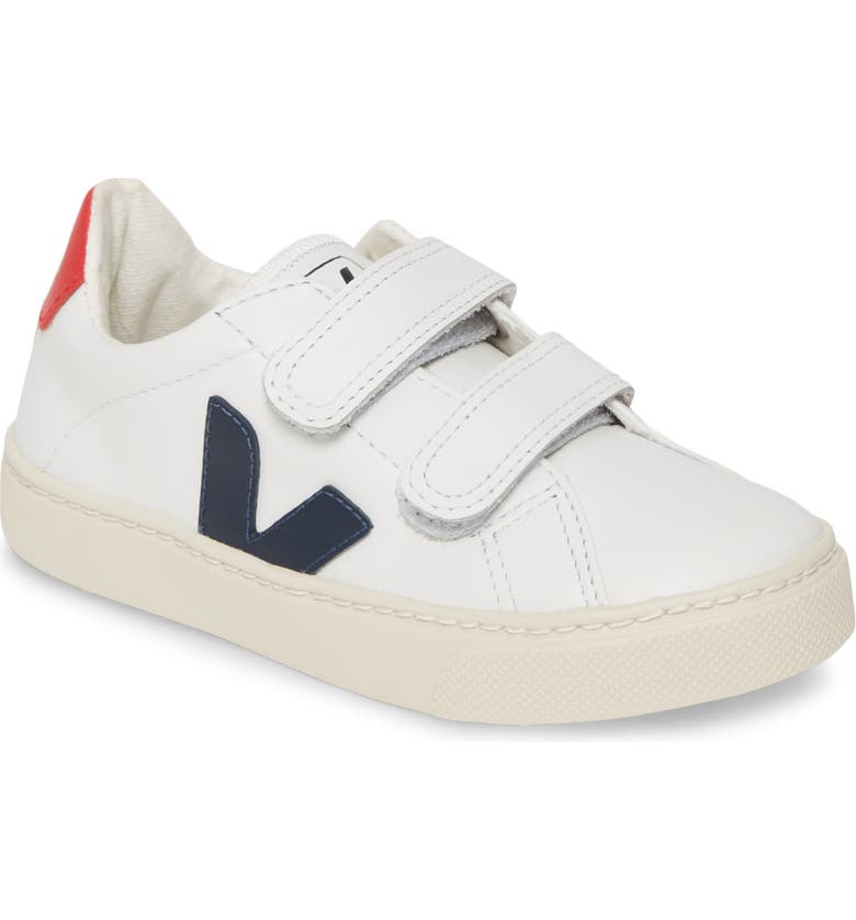 VEJA Esplar Double Strap Sneaker, Main, color, EXTRA WHITE