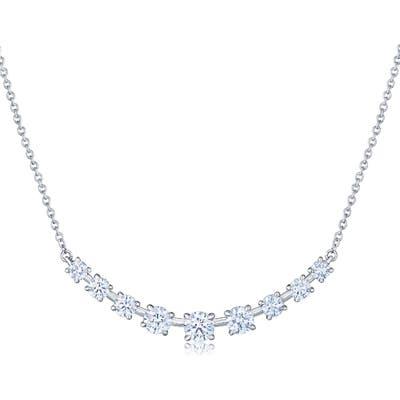 Kwiat Starry Night Diamond Bar Necklace