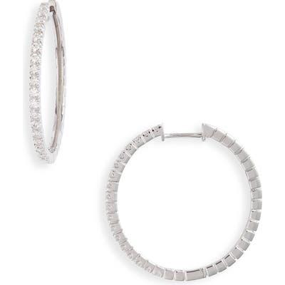Bony Levy Bardot Diamond Hoop Earrings (Nordstrom Exclusive)