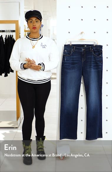 Natalie High Waist Bootcut Jeans, sales video thumbnail