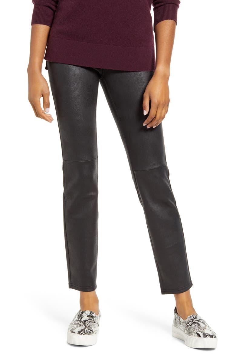 HUE Microsuede Leggings, Main, color, 001