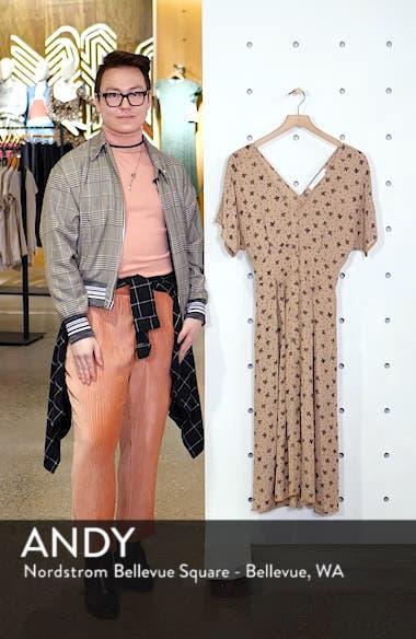 Dolman Sleeve Button Down Midi Dress, sales video thumbnail