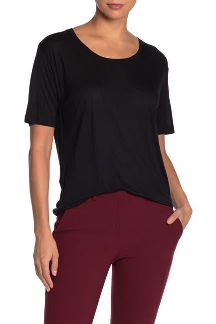 Image of Diane von Furstenberg Lalita Scoop Neck T-Shirt