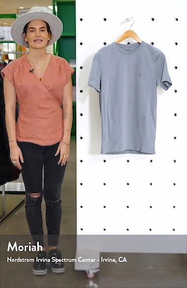 Brace Tonic Slim Fit Crewneck T-Shirt, sales video thumbnail