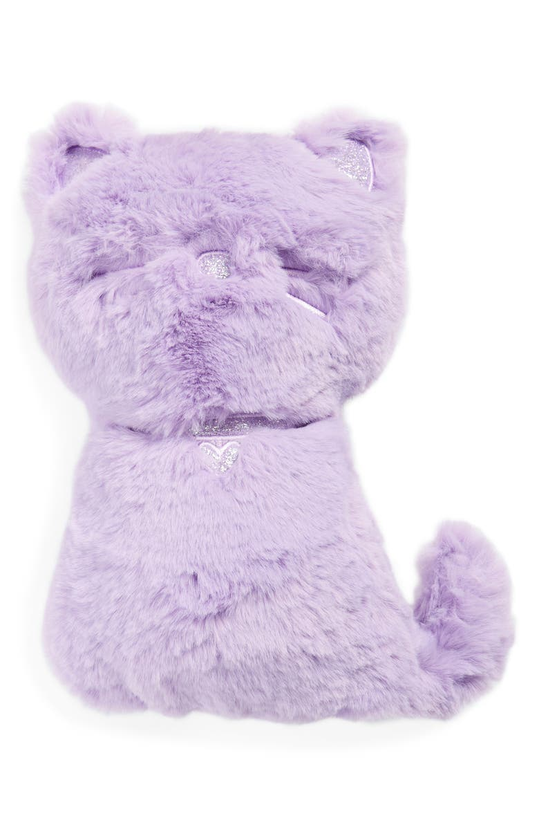 ISCREAM Furry Cat Bubblegum Scented Pillow, Main, color, PURPLE