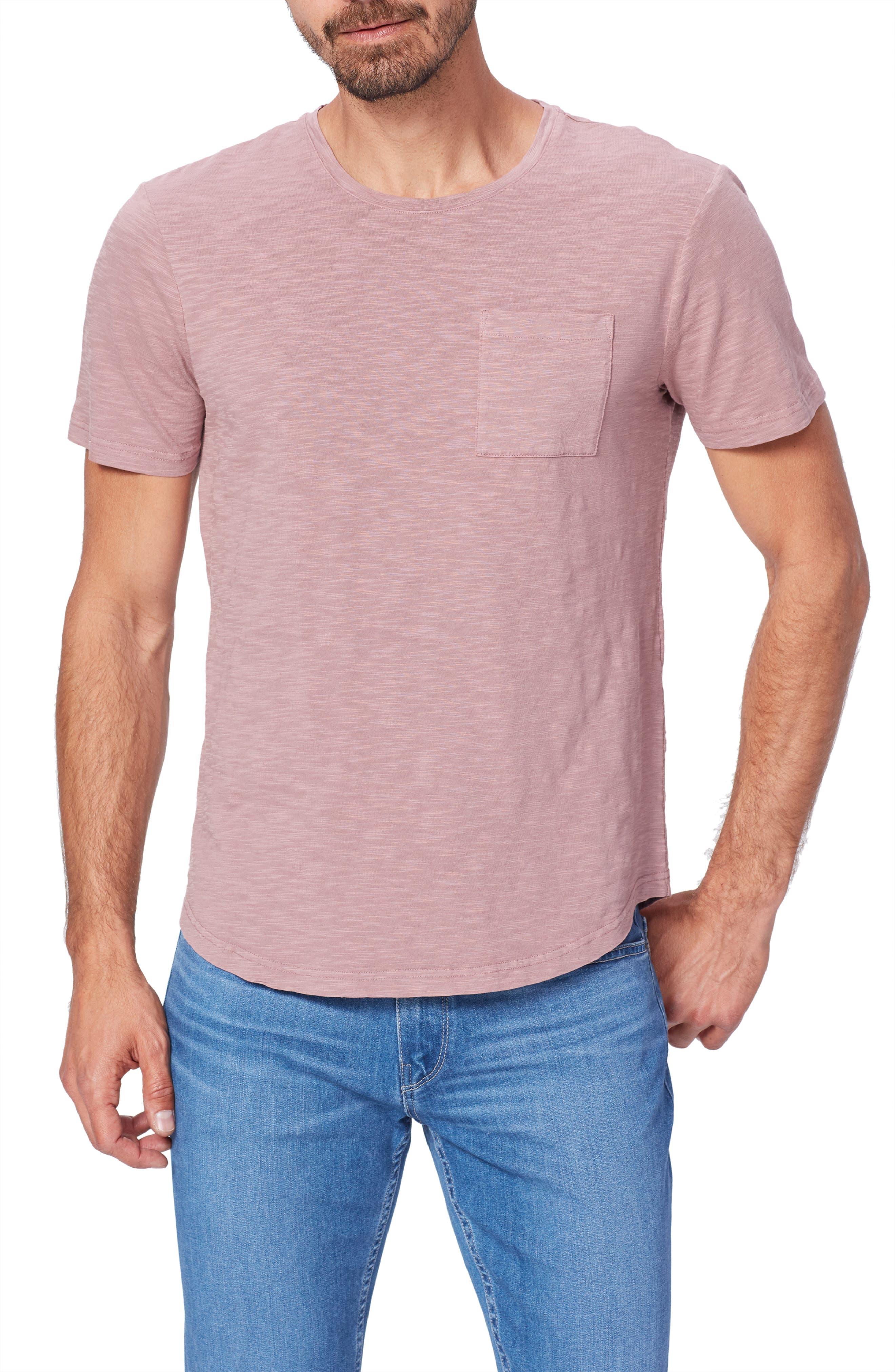 Image of PAIGE Kenneth Pocket Slub T-Shirt