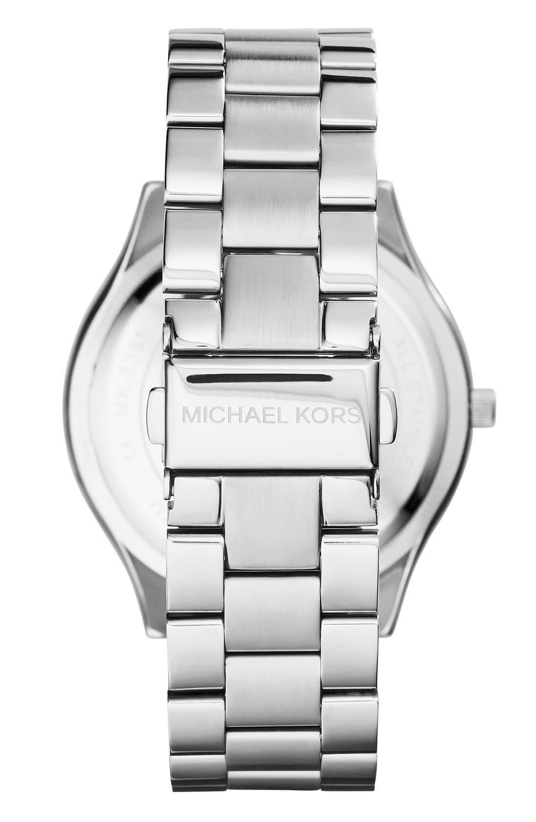 ,                             'Slim Runway' Bracelet Watch, 42mm,                             Alternate thumbnail 24, color,                             042