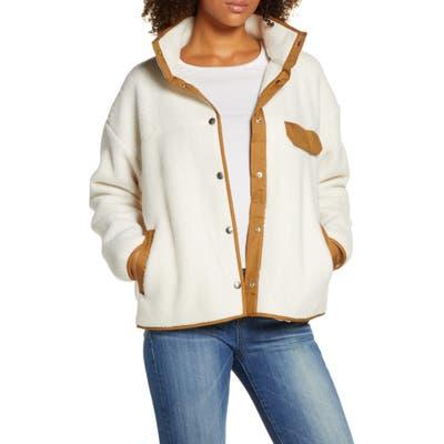 The North Face Cragmont Fleece Jacket, White