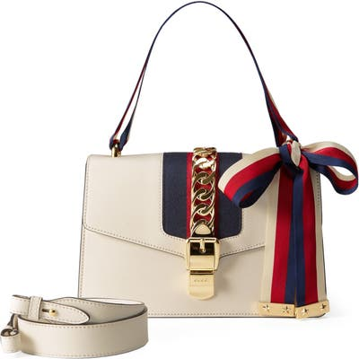 Gucci Small Leather Shoulder Bag -