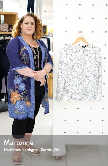Print Silk Blouse, sales video thumbnail