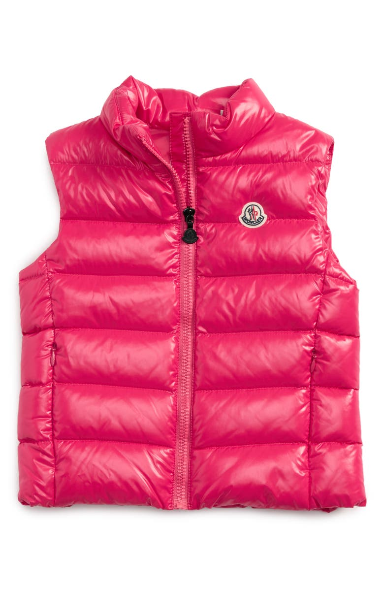 013ed572b Moncler Ghany Water Resistant Shiny Down Puffer Vest (Toddler Girls ...