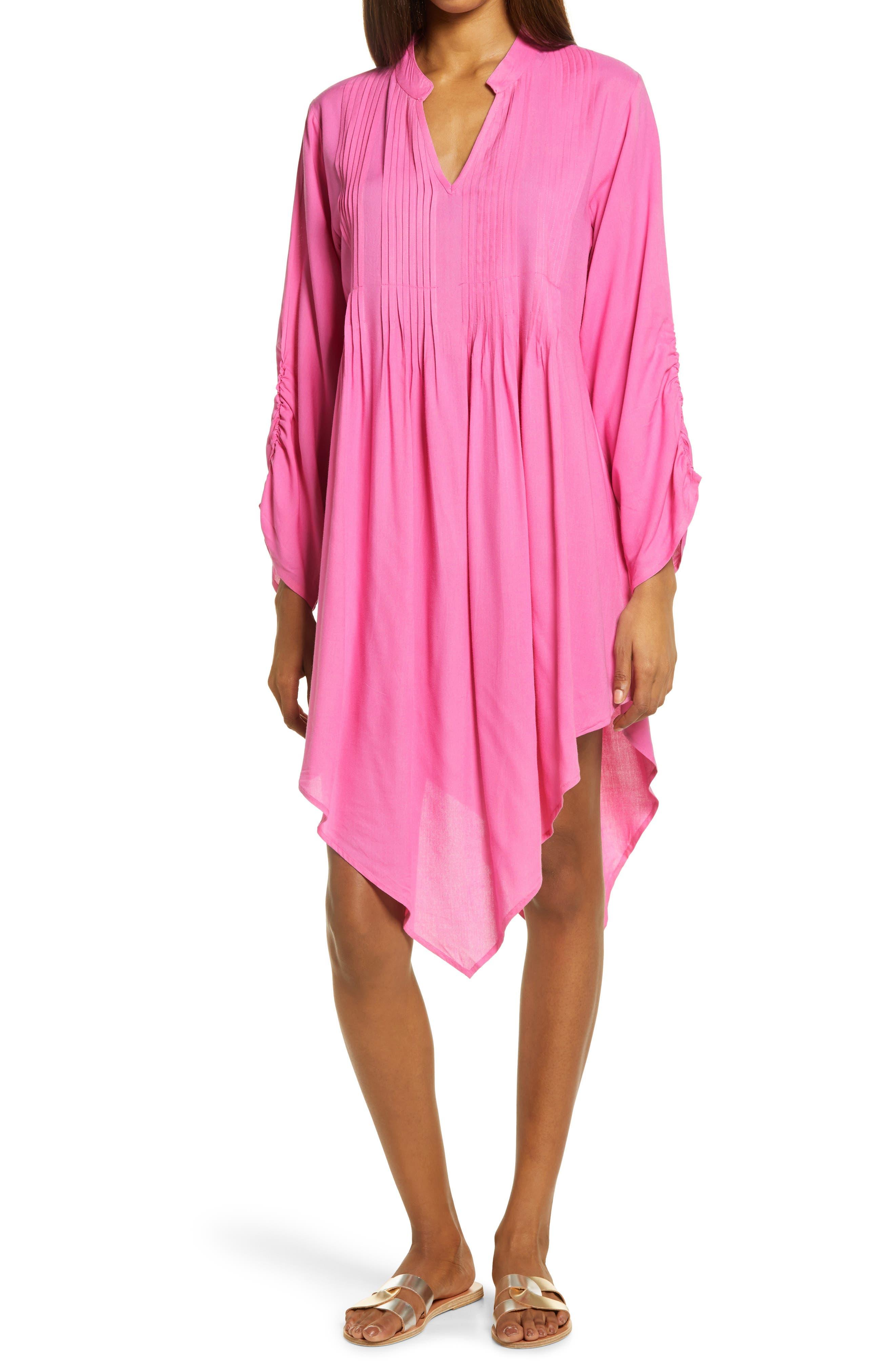 Rina Handkerchief Hem Dress