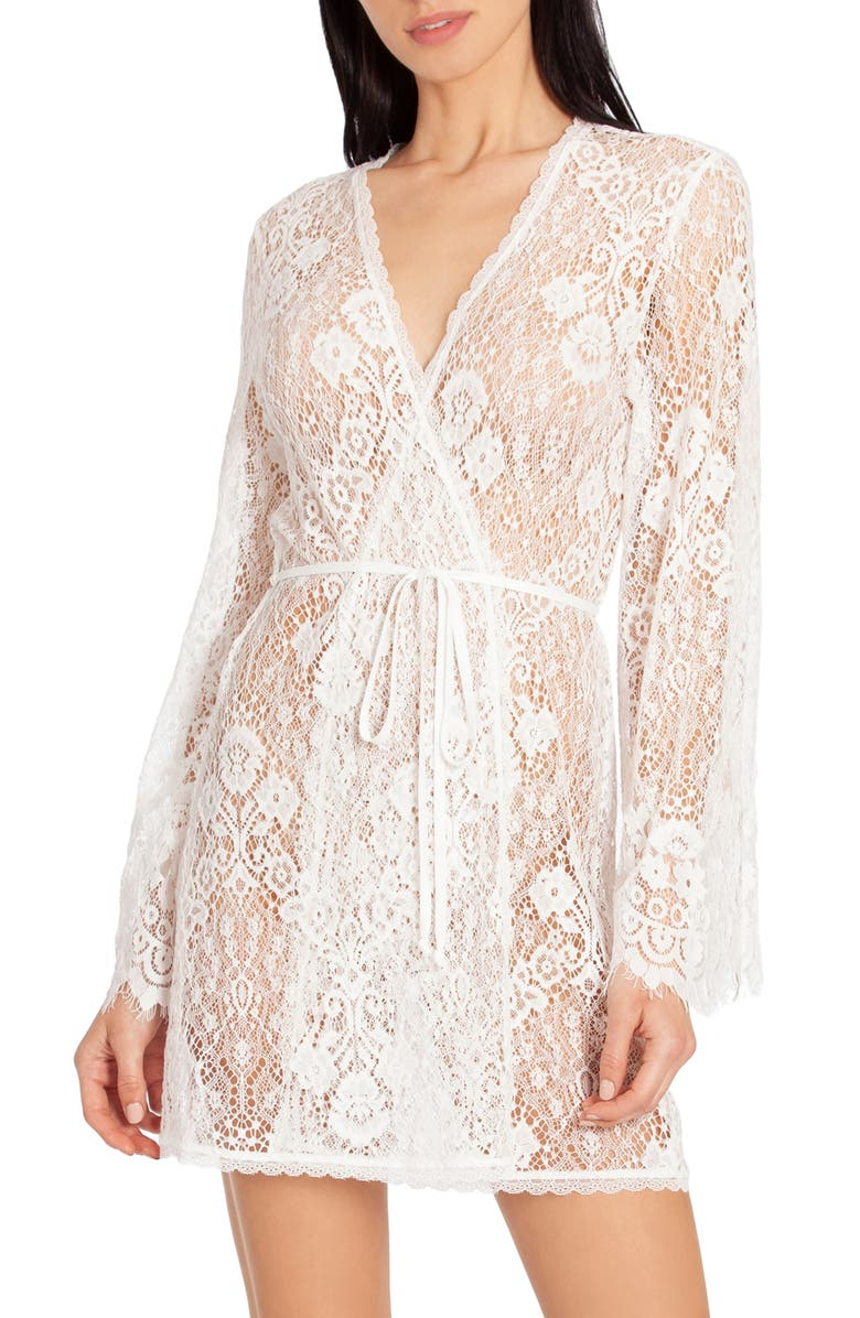 IN BLOOM BY JONQUIL Lace Wrap, Main, color, IVORY