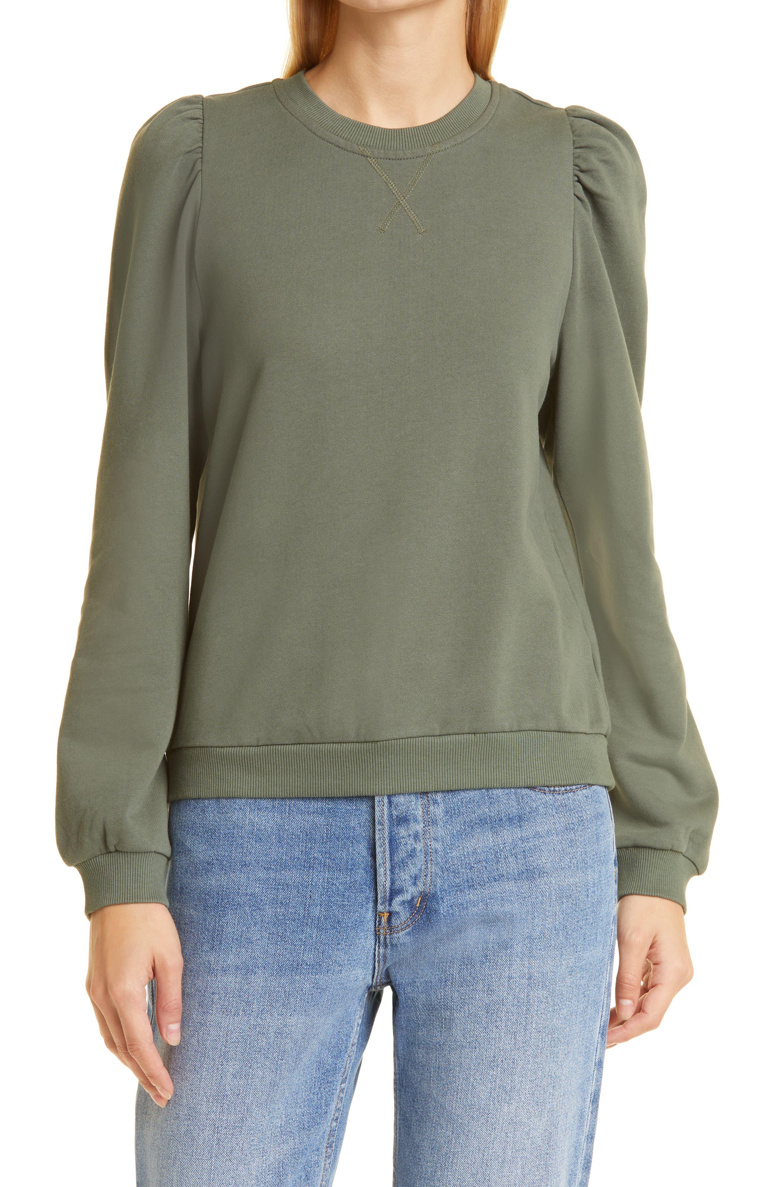 Roberta Puff Sleeve Sweatshirt