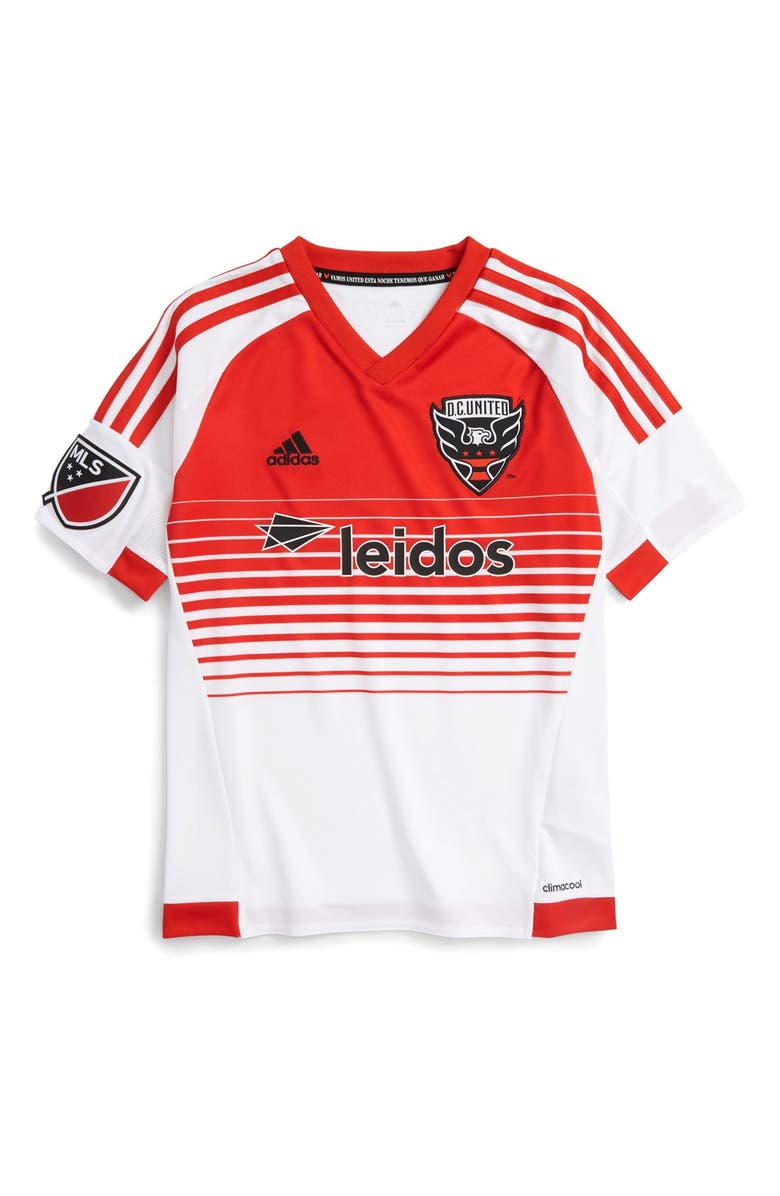 quality design ee0d8 508b8 adidas 'DC United' CLIMACOOL® Secondary Soccer Jersey (Big ...