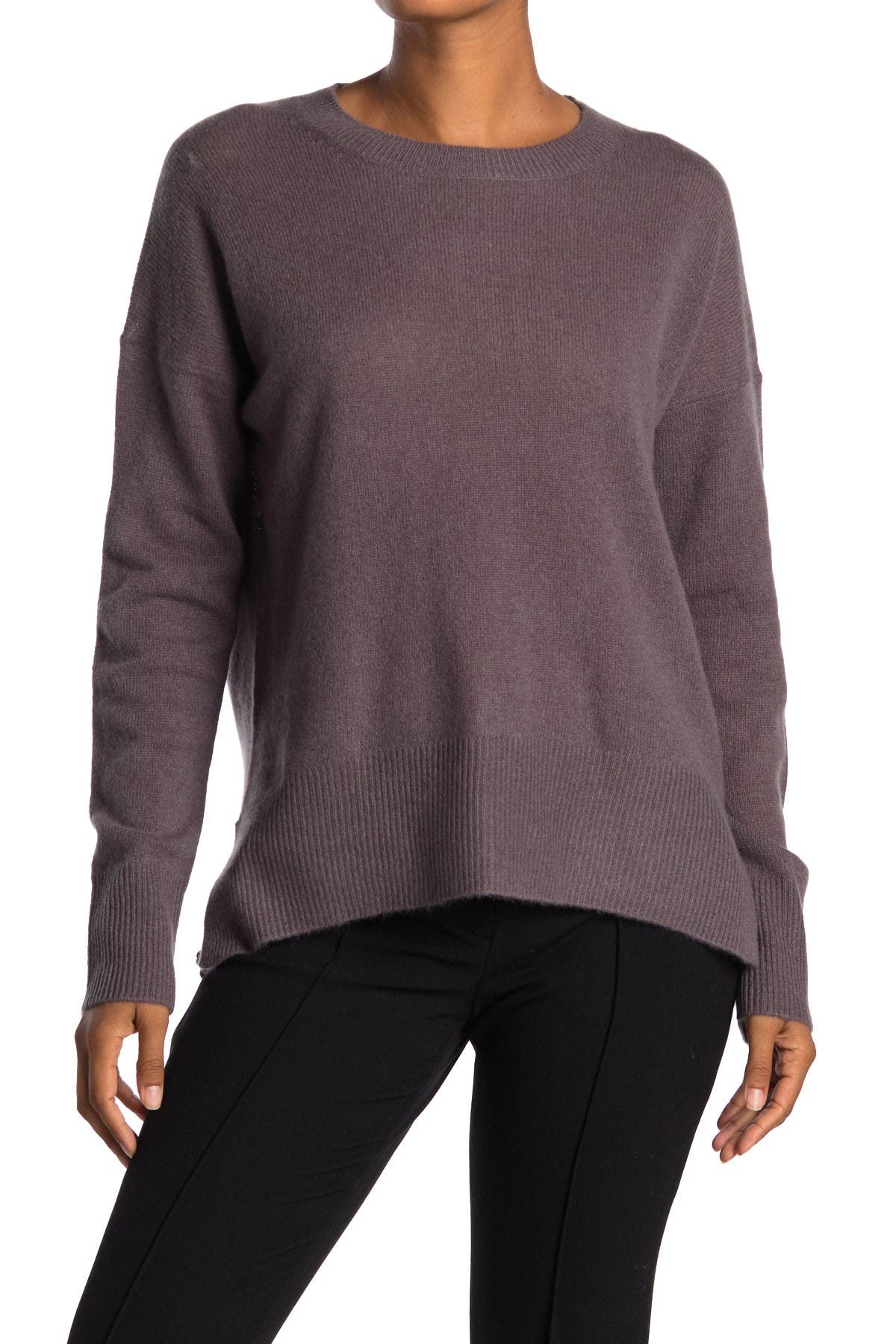 Image of M Magaschoni High/Low Pullover Cashmere Sweater
