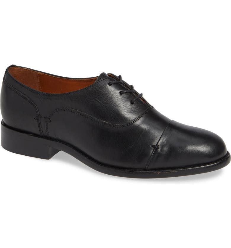 TWO24 by Ariat Austen Optional Lace-Up Oxford, Main, color, BLACK LEATHER