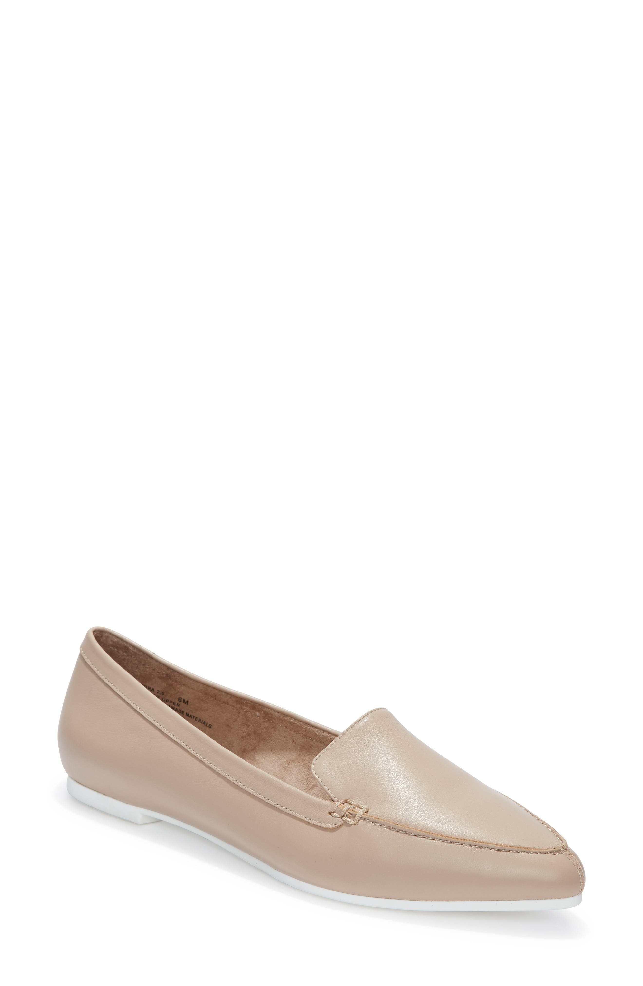 Me Too Audra Loafer Flat- Beige