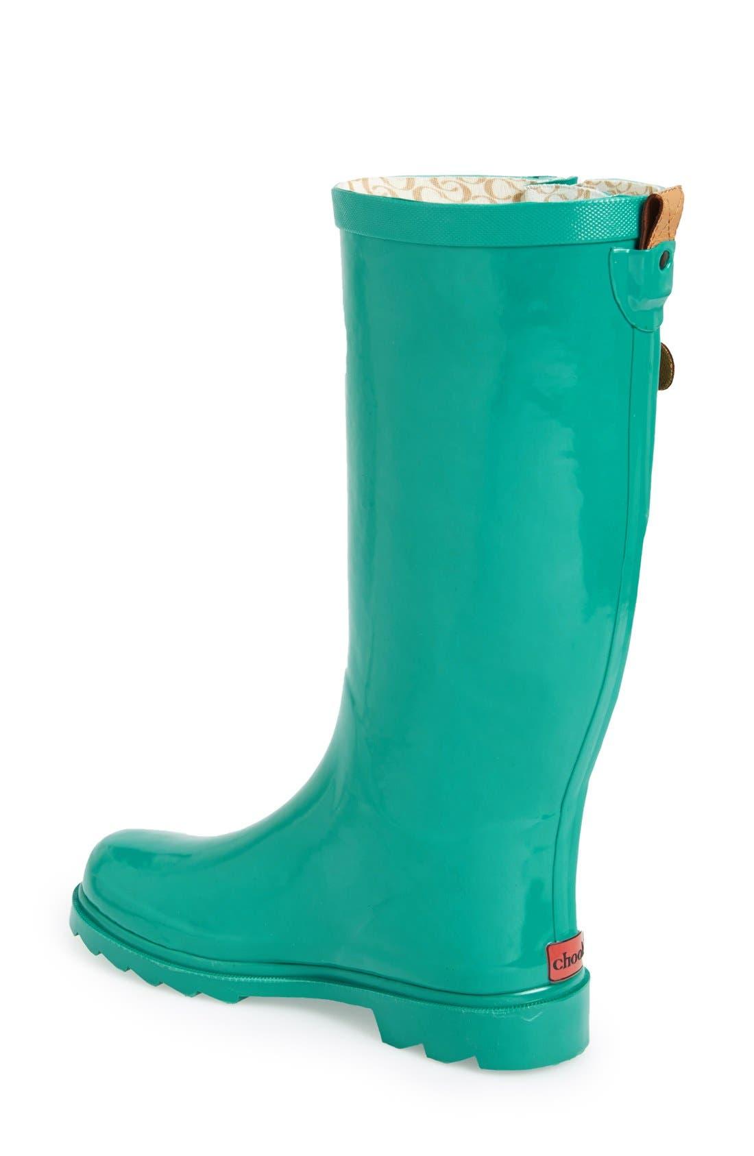 ,                             'Top Solid' Rain Boot,                             Alternate thumbnail 46, color,                             316