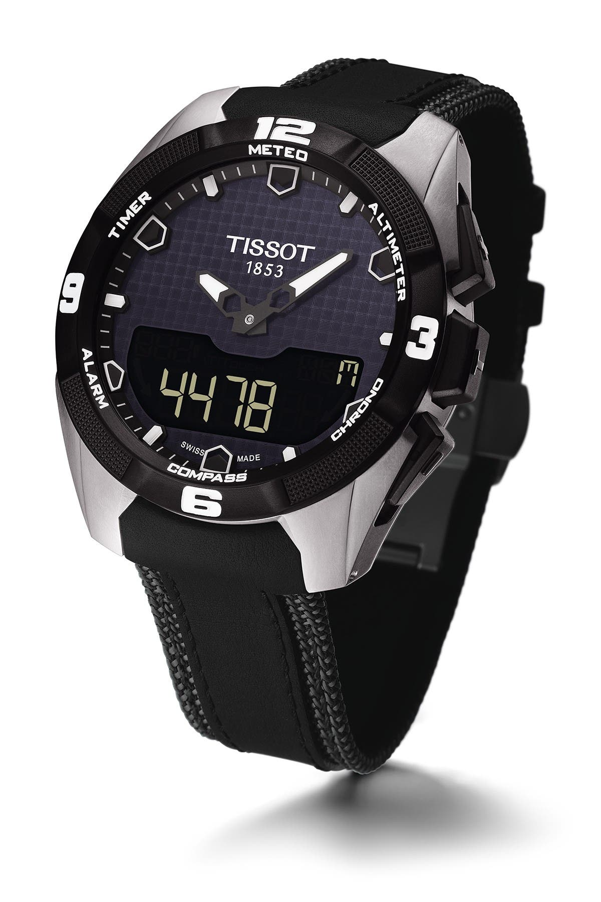 Image of Tissot Men's Tissot T-Touch Expert Solar Watch, 45mm