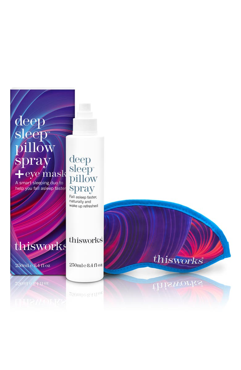 THISWORKS<SUP>®</SUP> Deep Sleep Pillow Spray & Mask, Main, color, NO COLOR