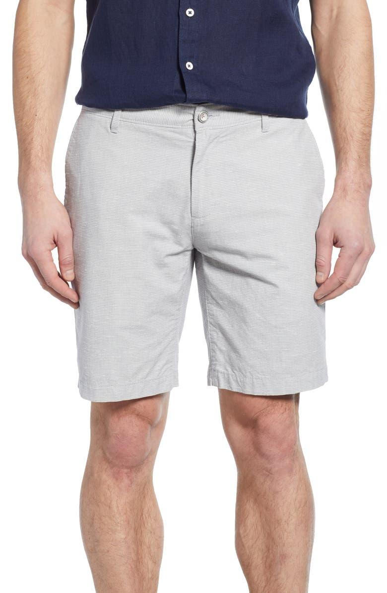 RODD & GUNN Stoke Valley Shorts, Main, color, GREY
