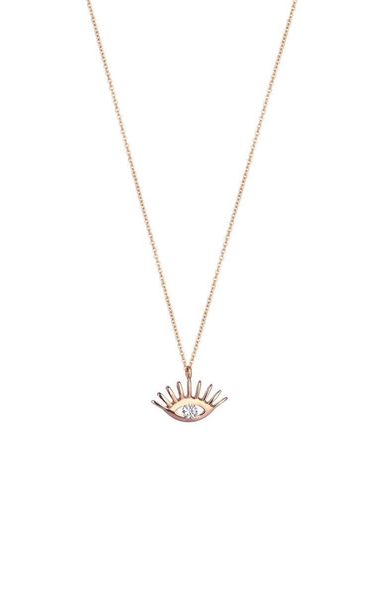 KISMET BY MILKA Diamond Pendant Necklace, Main, color, 712