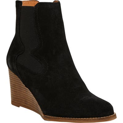 Andre Assous Sadie Wedge Chelsea Boot, Black