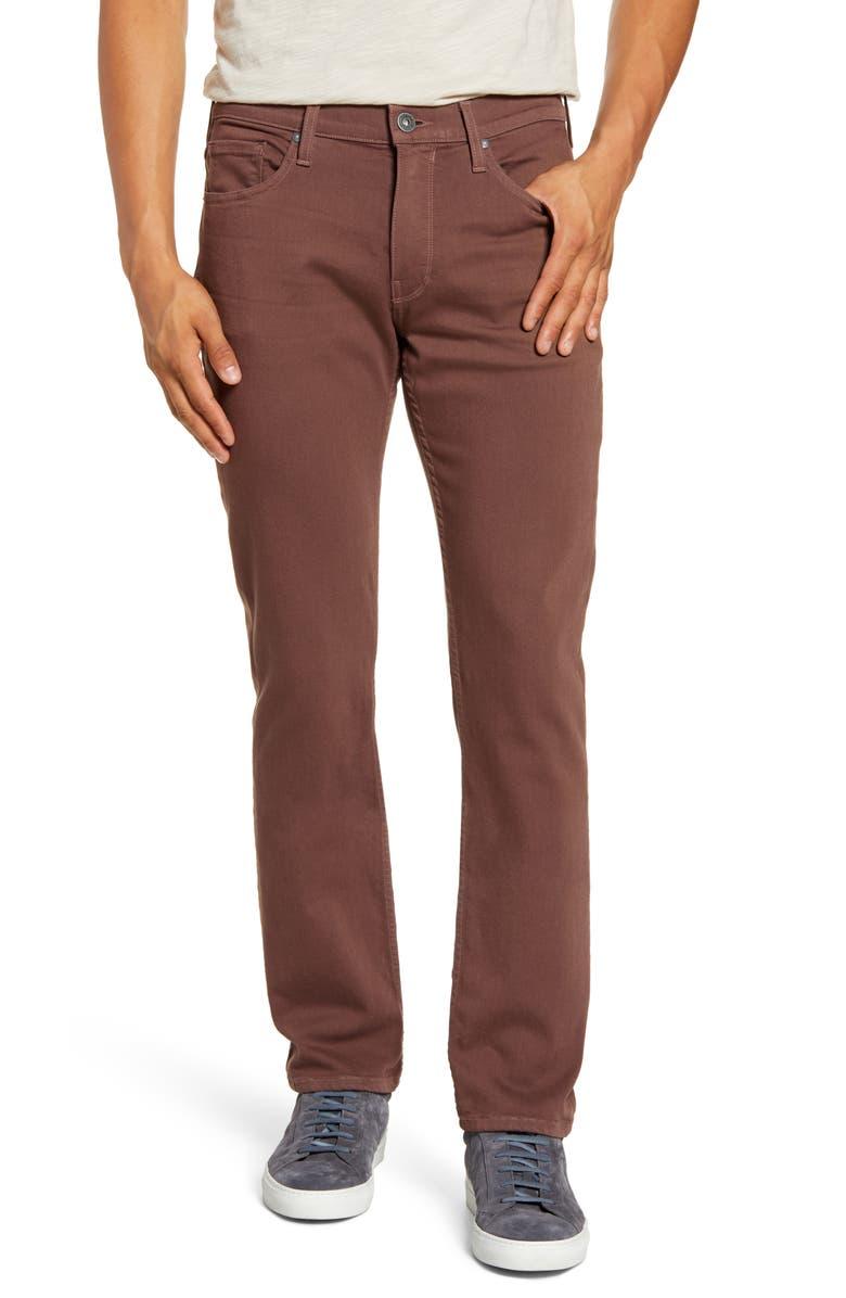 PAIGE Transcend Federal Slim Straight Leg Jeans, Main, color, 200