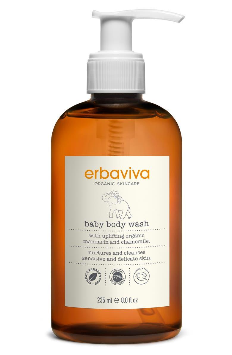 ERBAVIVA Baby Body Wash, Main, color, NO COLOR