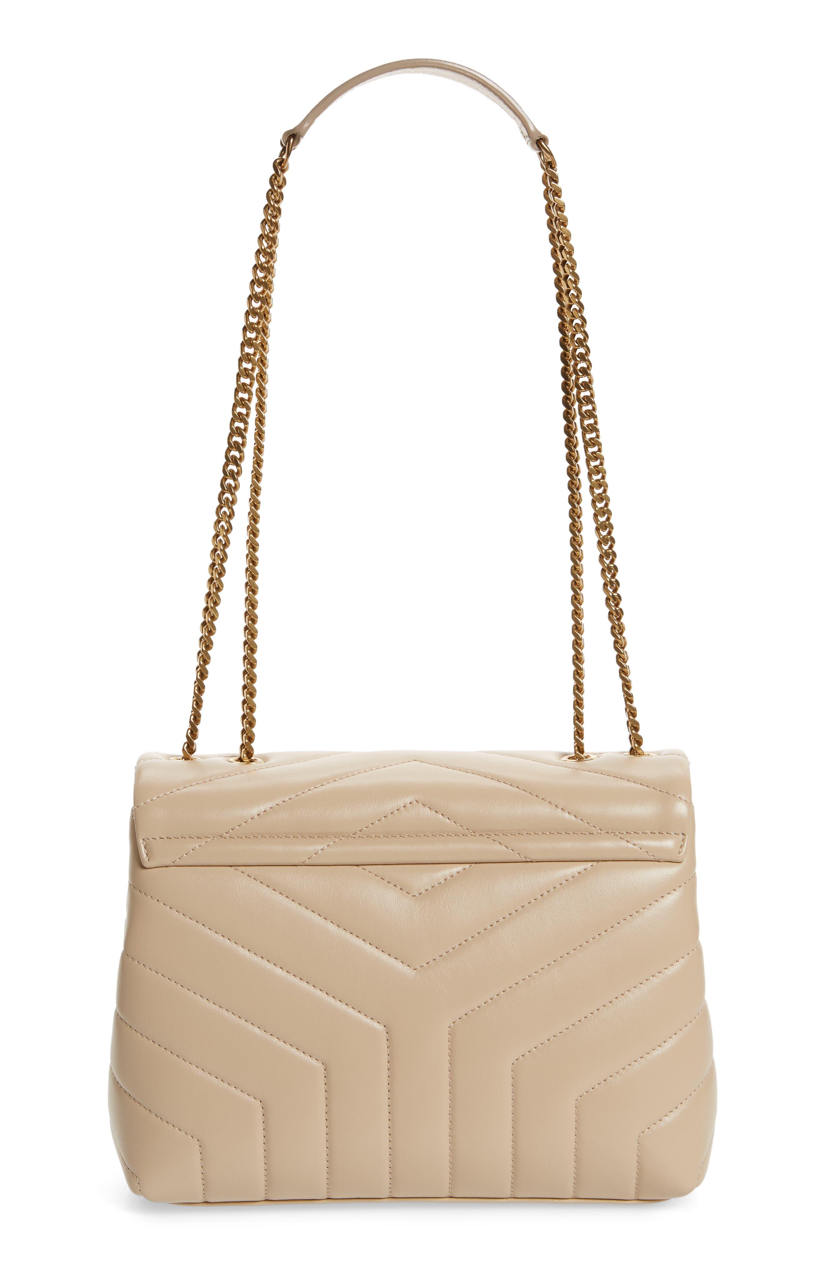 ,                             Small Loulou Leather Shoulder Bag,                             Alternate thumbnail 13, color,                             251