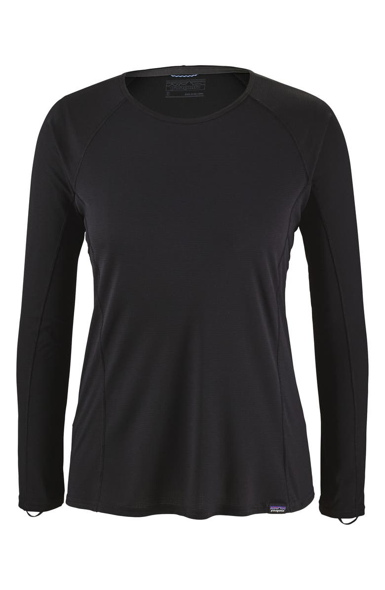 PATAGONIA Capilene<sup>®</sup> Thermal Weight Long-Sleeve Tee, Main, color, 001