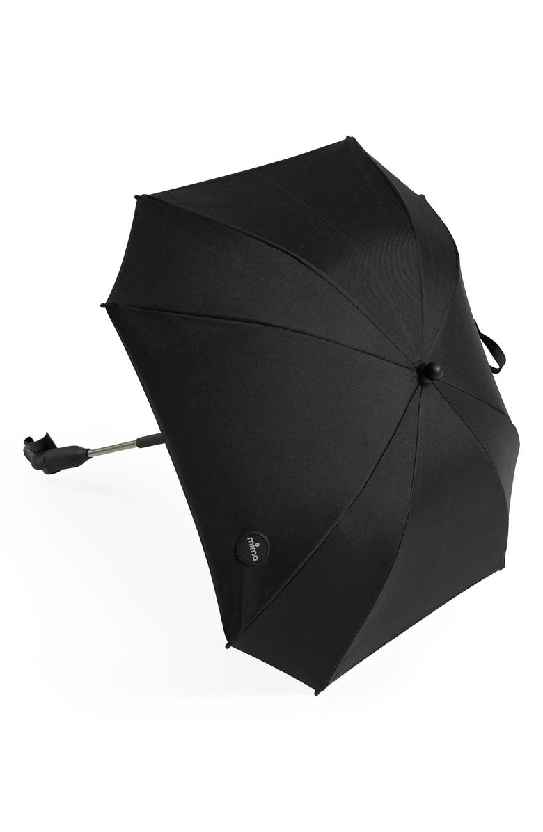 MIMA Stroller Umbrella, Main, color, BLACK