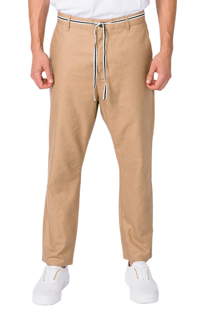 ZANEROBE Jumpa Drawstring Chino Pants, Main, color, 250