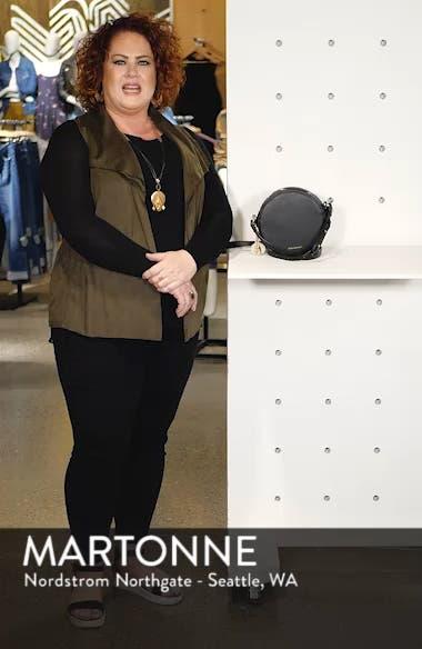 Emerson Faux Leather Round Bag, sales video thumbnail