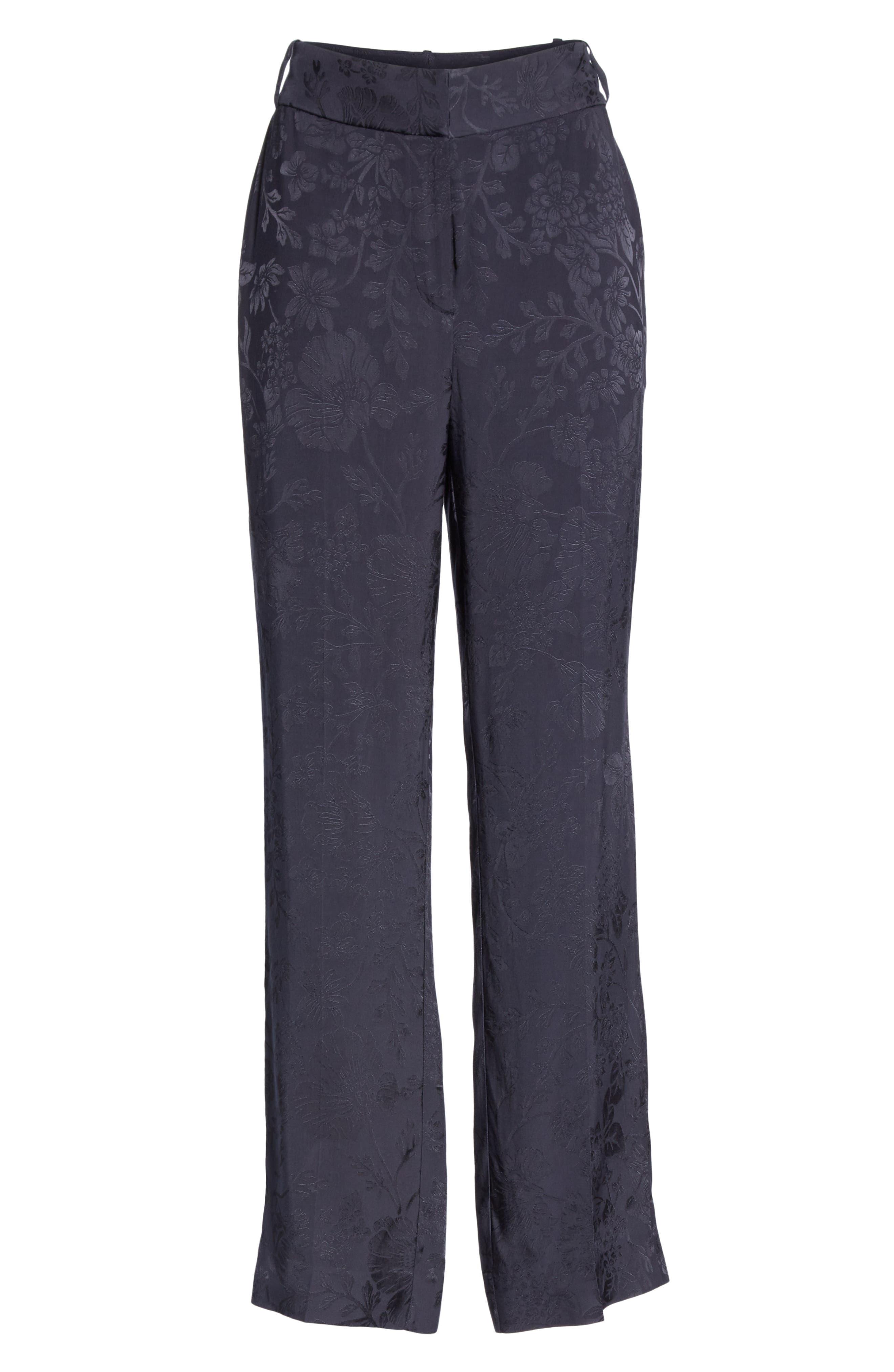 ,                             Lita Jacquard Trousers,                             Alternate thumbnail 7, color,                             400