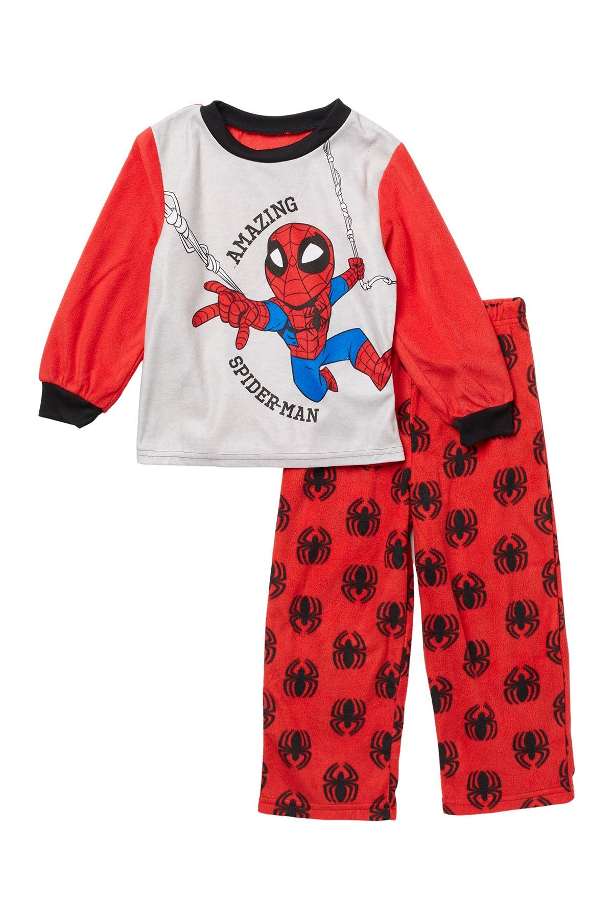 Image of AME Marvel Spider-Man Long Sleeve Top & Pants 2-Piece Set