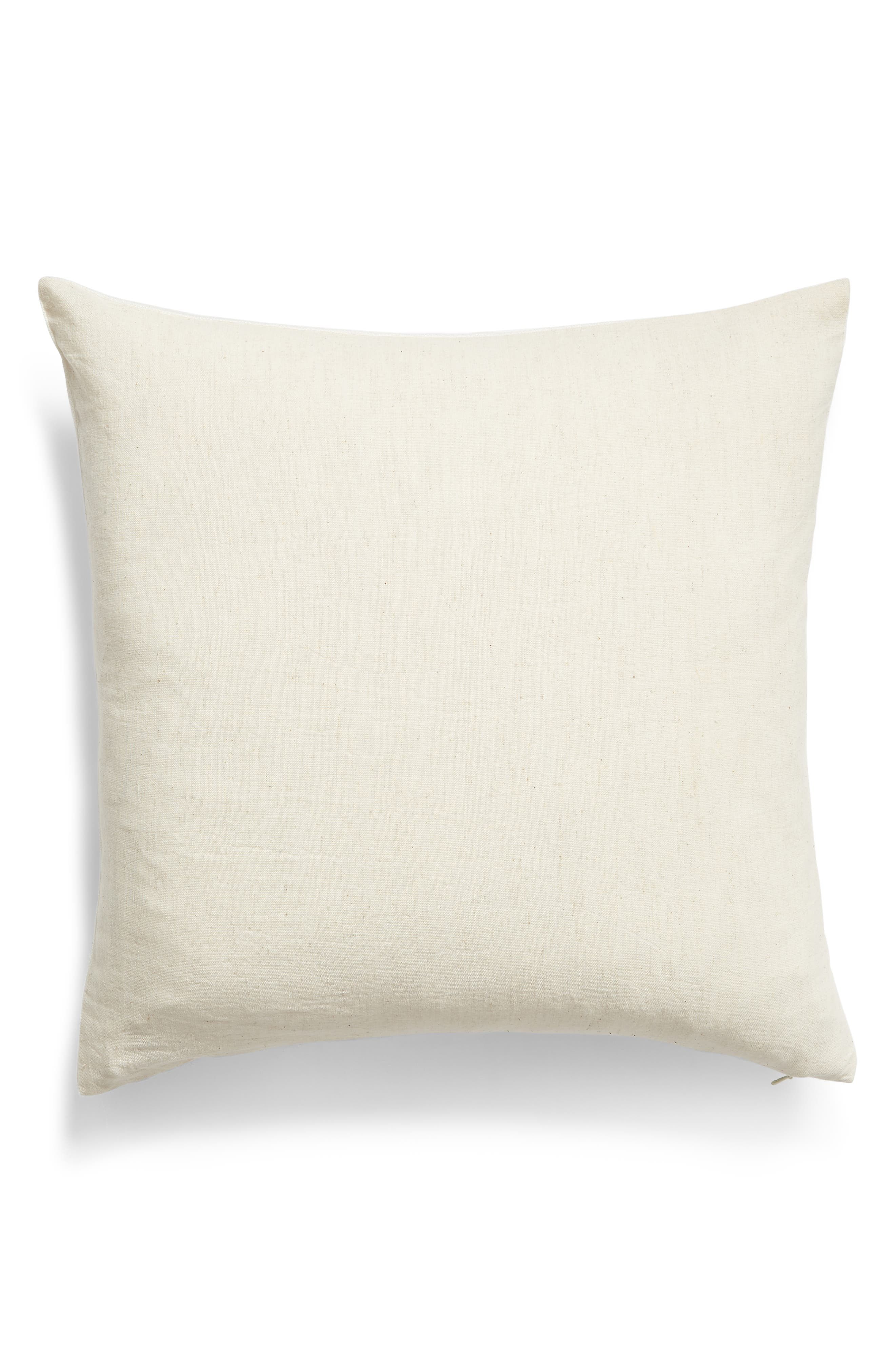 ,                             Leaf Print Accent Pillow,                             Alternate thumbnail 2, color,                             GREEN BRONZE MULTI