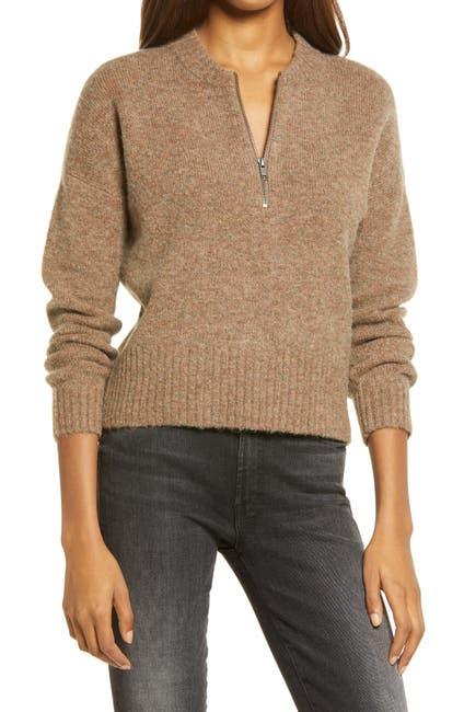 Image of Madewell York Half Zip Women's Pullover Sweater
