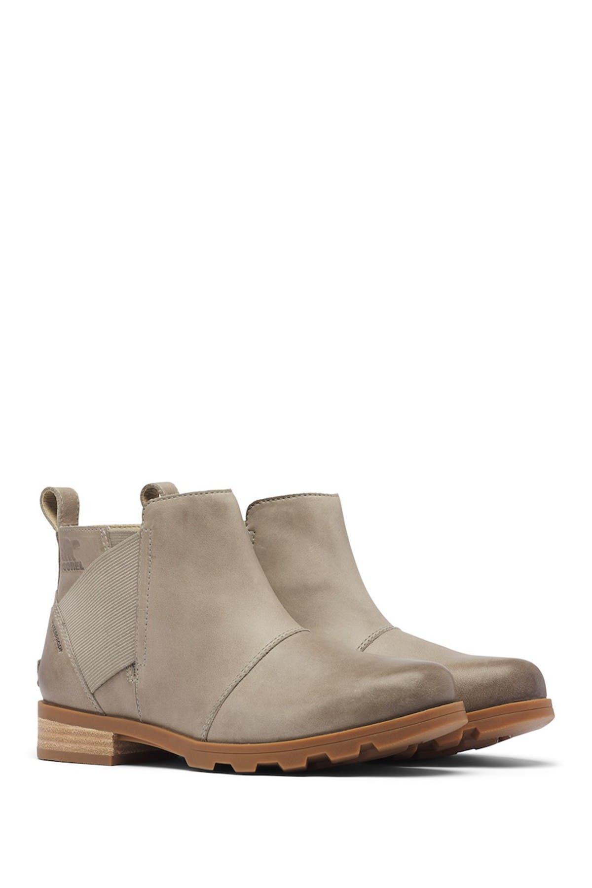 Image of Sorel Emelie Waterproof Leather Chelsea Boot