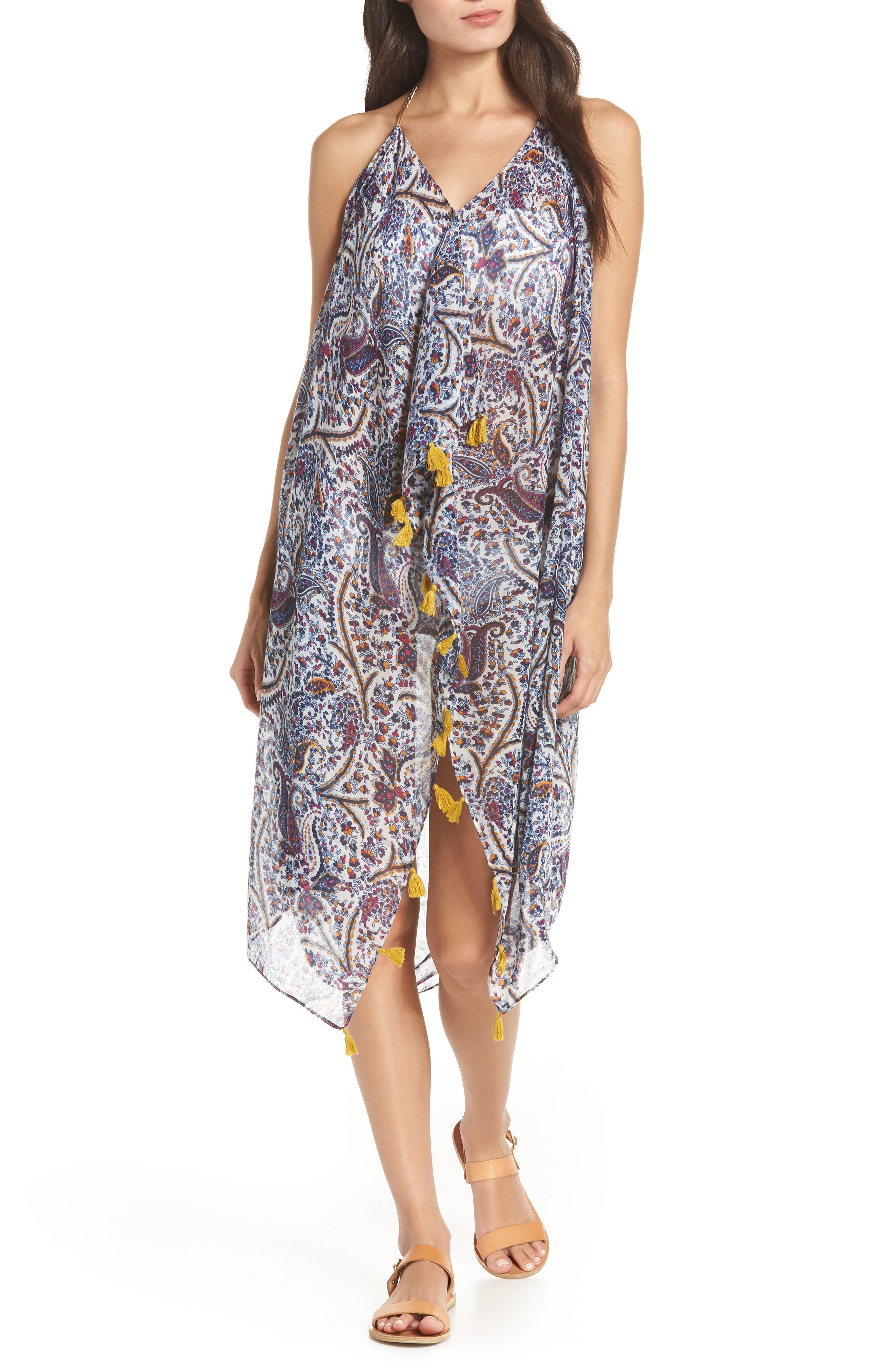 Beach to Street Cover-Up Dress, Main, color, YONDER MOUNTAIN