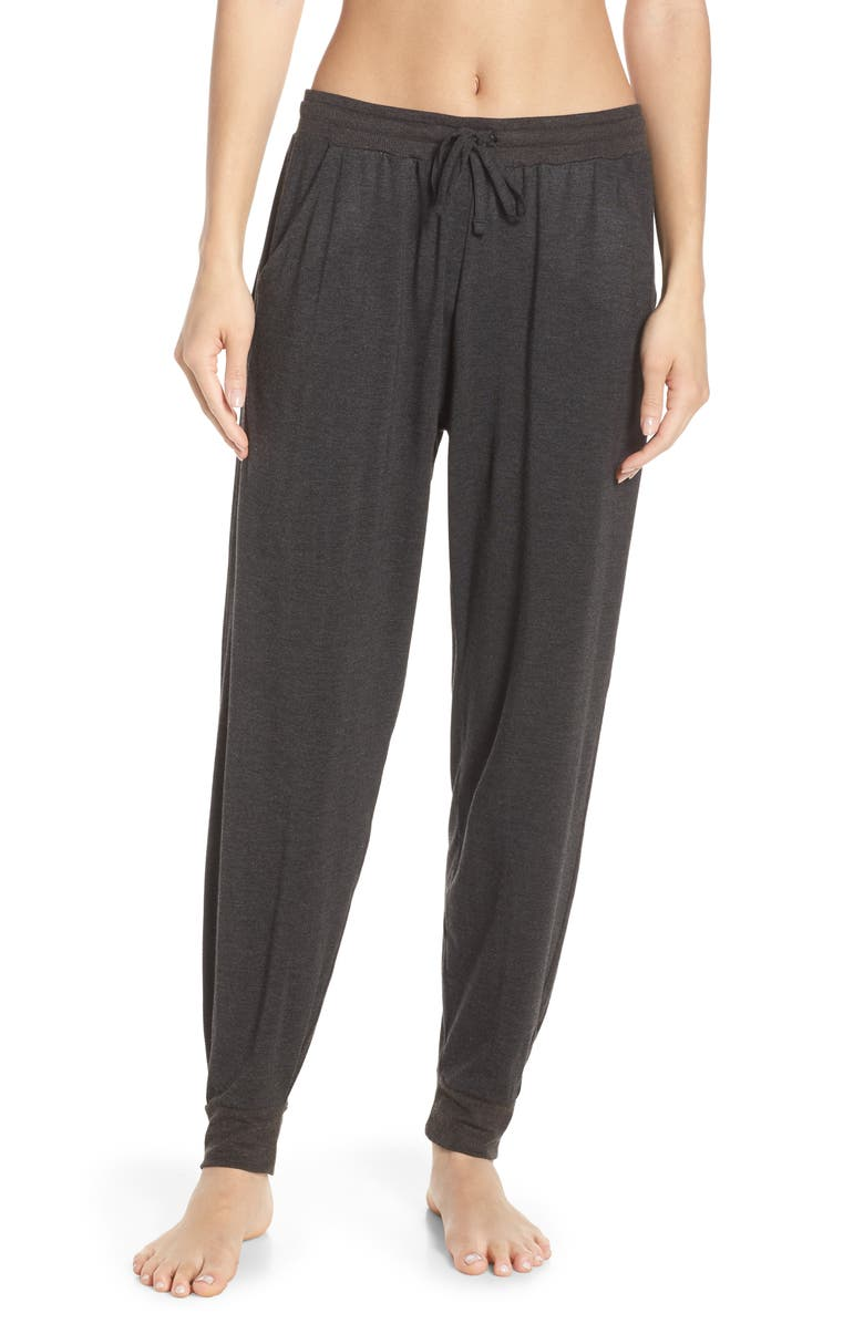 TOMMY JOHN Jogger Pants, Main, color, CHARCOAL HEATHER