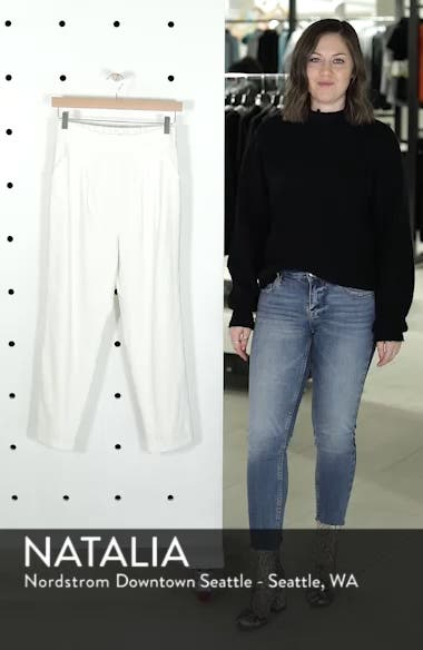 Pleat Front Crop Pants, sales video thumbnail