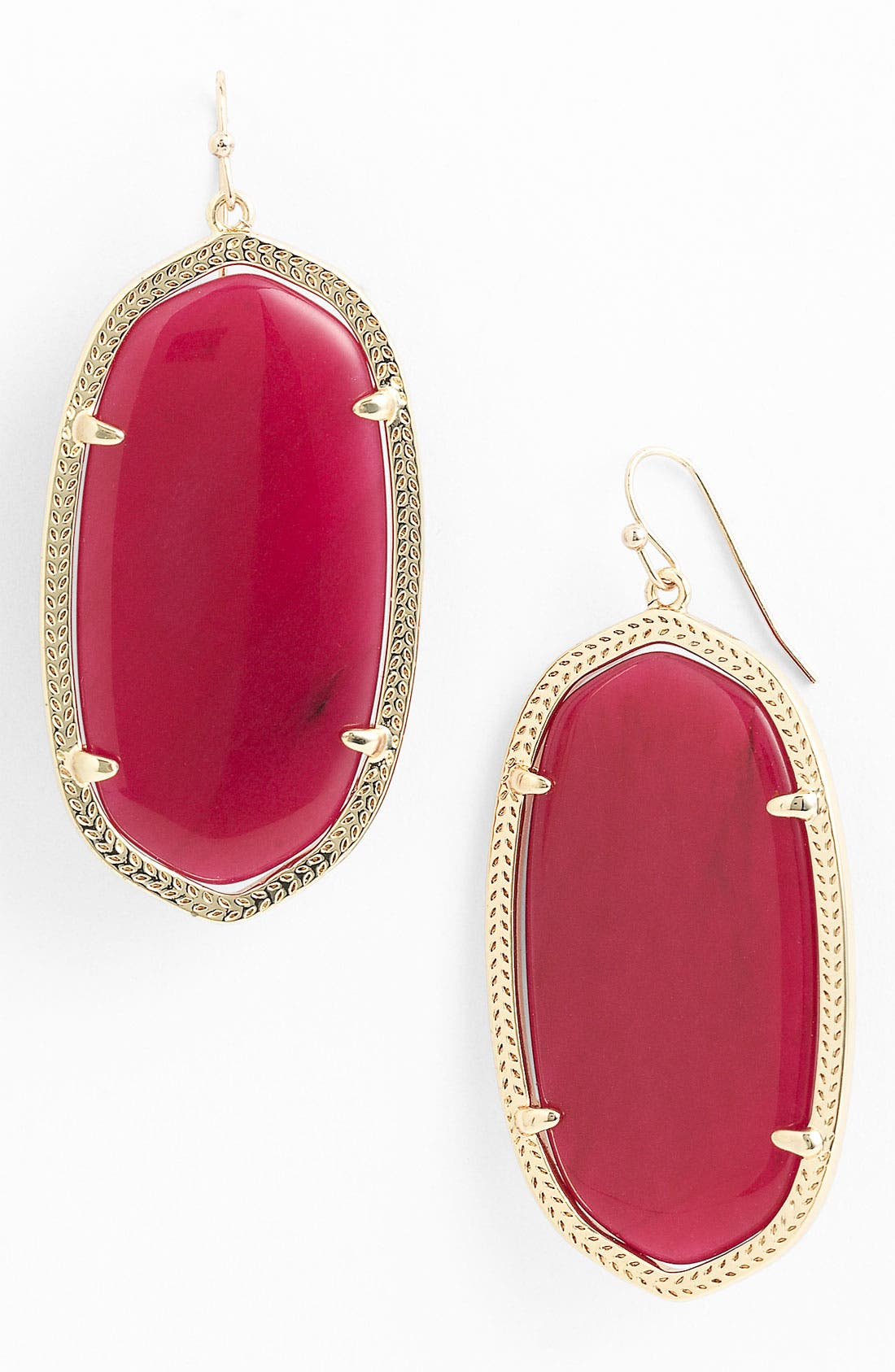 ,                             'Danielle' Oval Statement Earrings,                             Main thumbnail 57, color,                             650