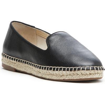 Sole Society Sammah Espadrille Loafer- Black